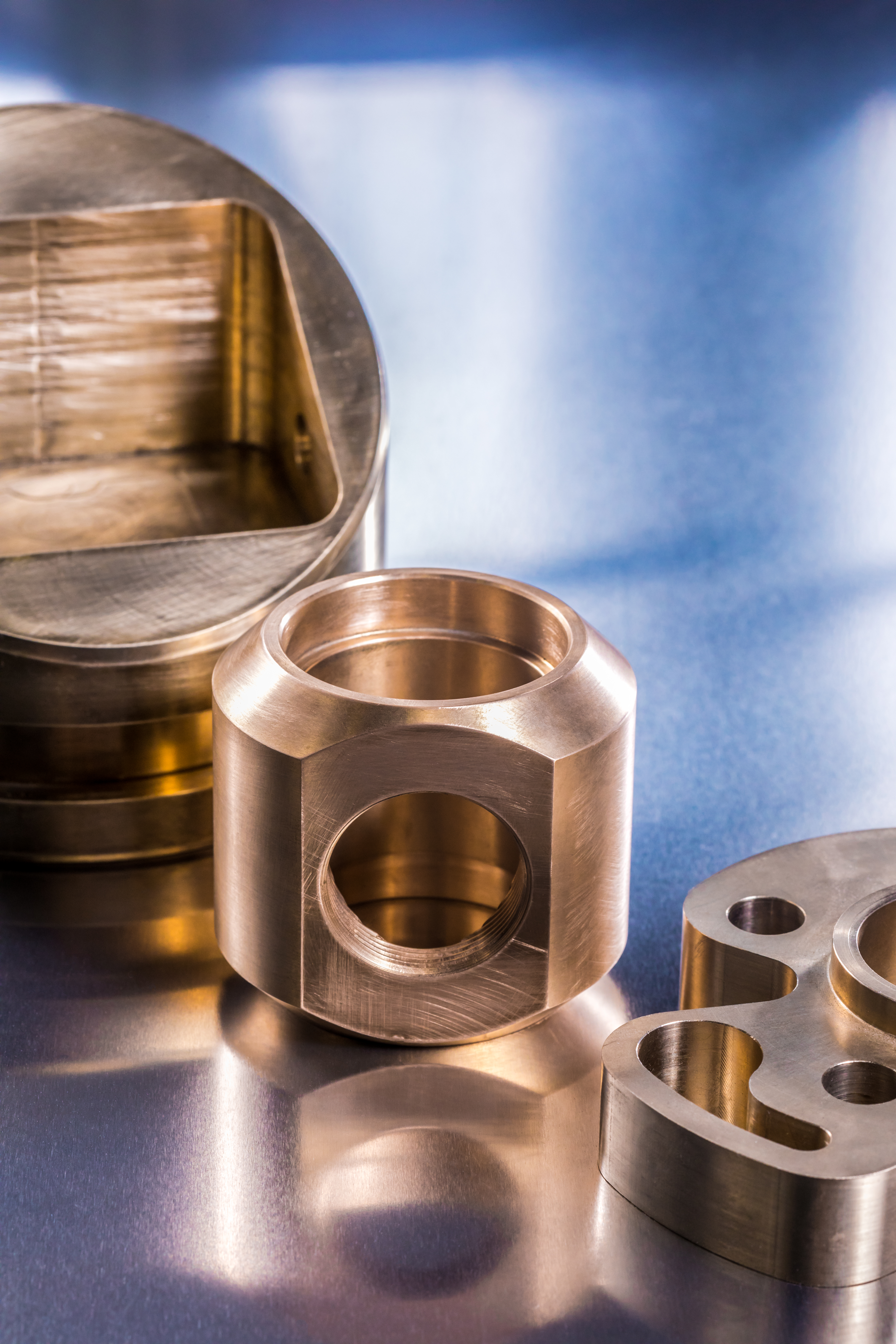 Machined Parts by AMPCO