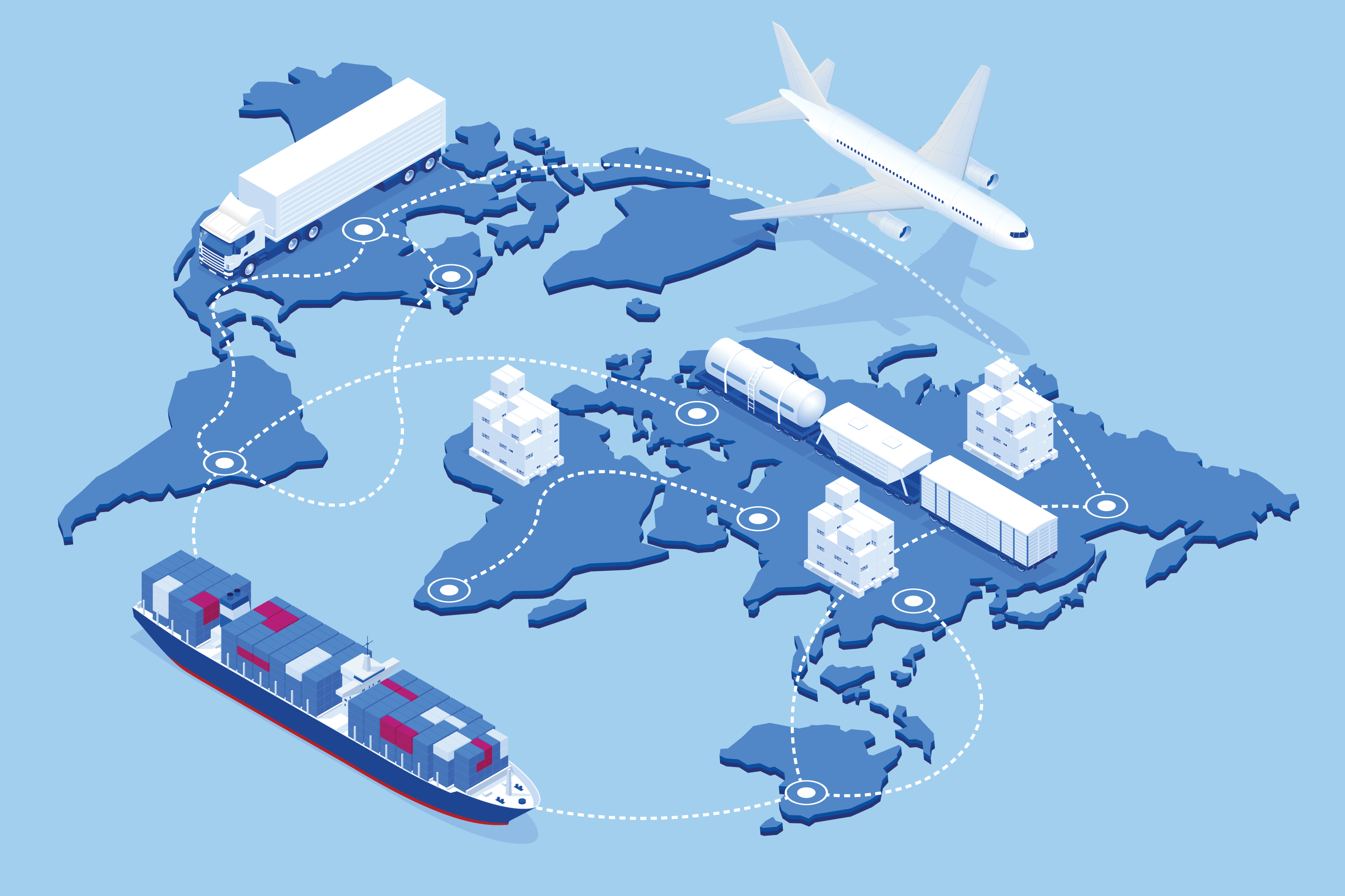 effiecient supply chains in a globalised world