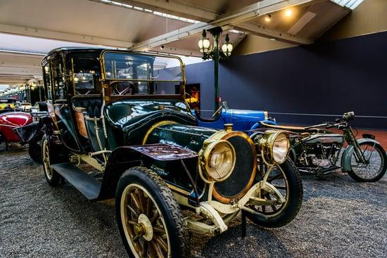 Delaunay-Belleville retro car